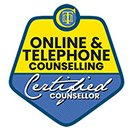 Online and telephone counselling certified counsellor